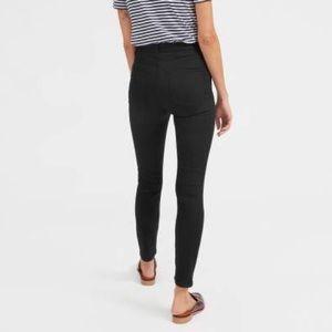 Black Everlane High-Rise Skinny Jean